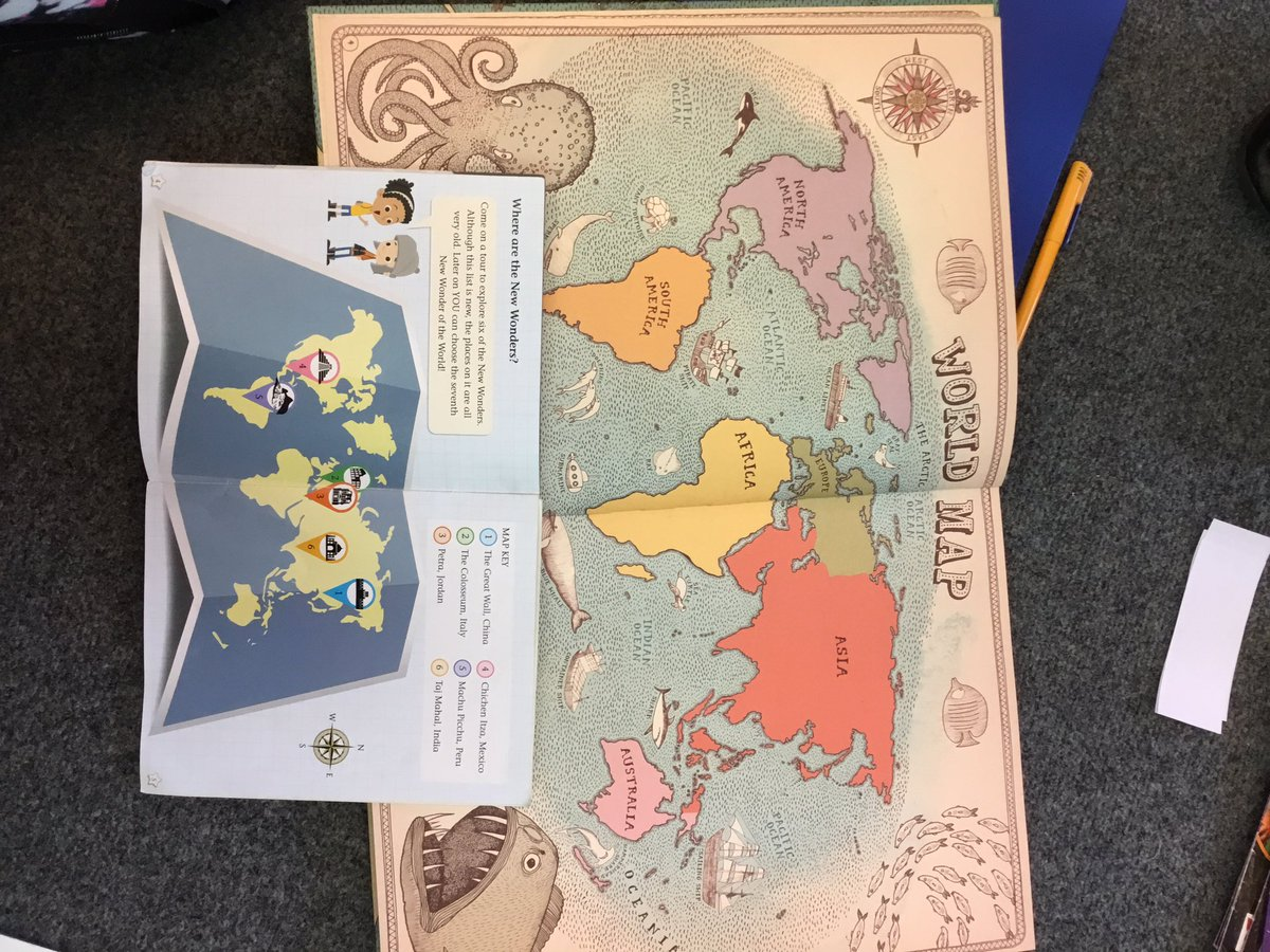 Gorsey Bank Year 2 On Twitter We Used Our Maps Book From Our