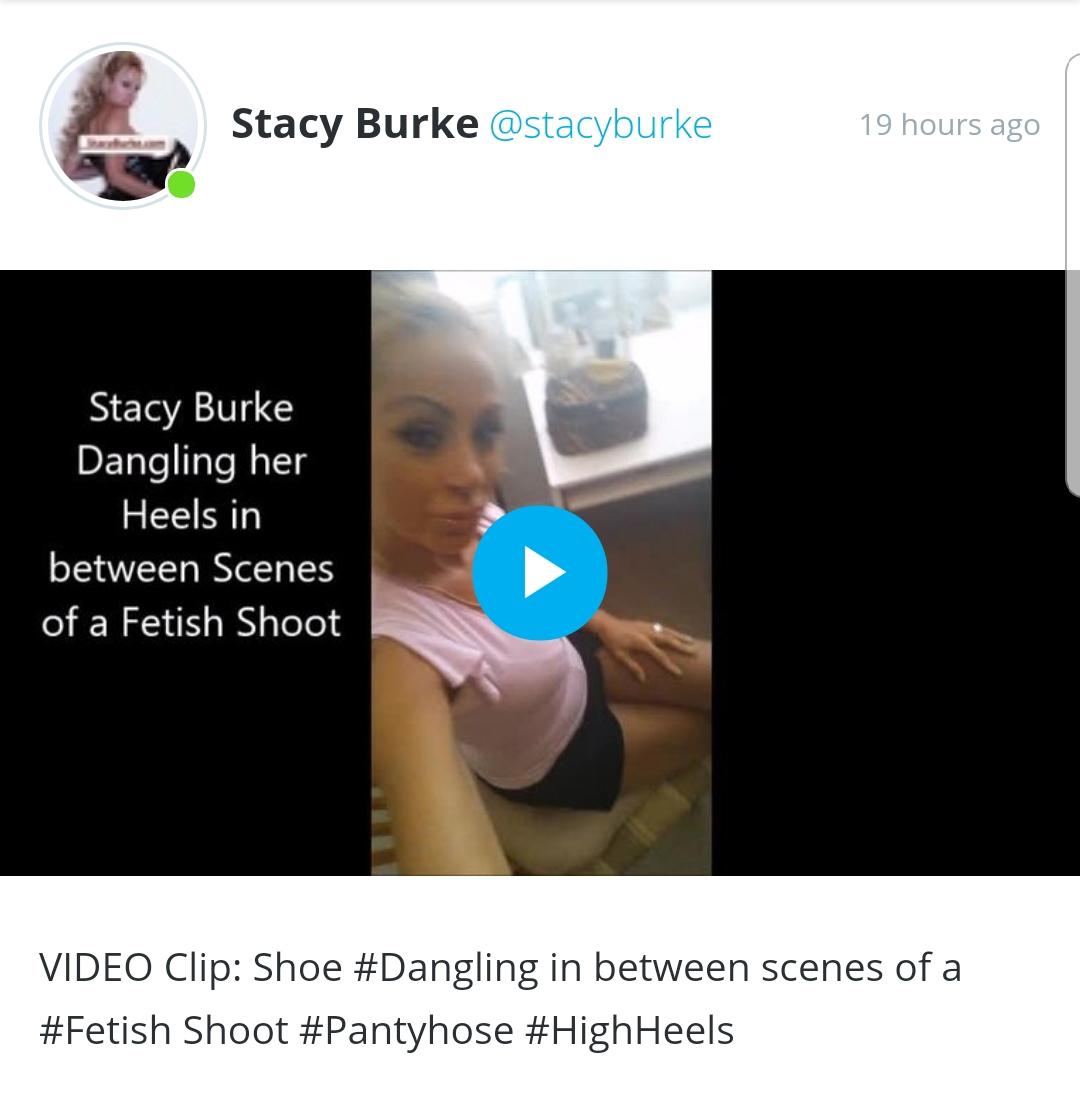 Will Stacy burke pantyhose confirm. was