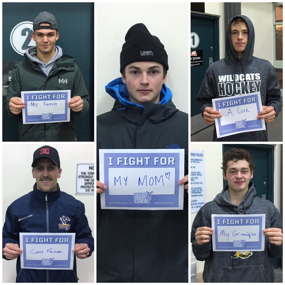 #HockeyFightsCancer tonight as @WhitbyAAAMidget take on @YSEMidgetAAA at Iroquois in #Whitby at 9 PM  We all fight for someone. Here is who we fight for. Come and support your Wildcats as they play for something bigger than #hockey  Who are you fighting for?   #JoinTheFight <br>http://pic.twitter.com/QeyxBqsb8g