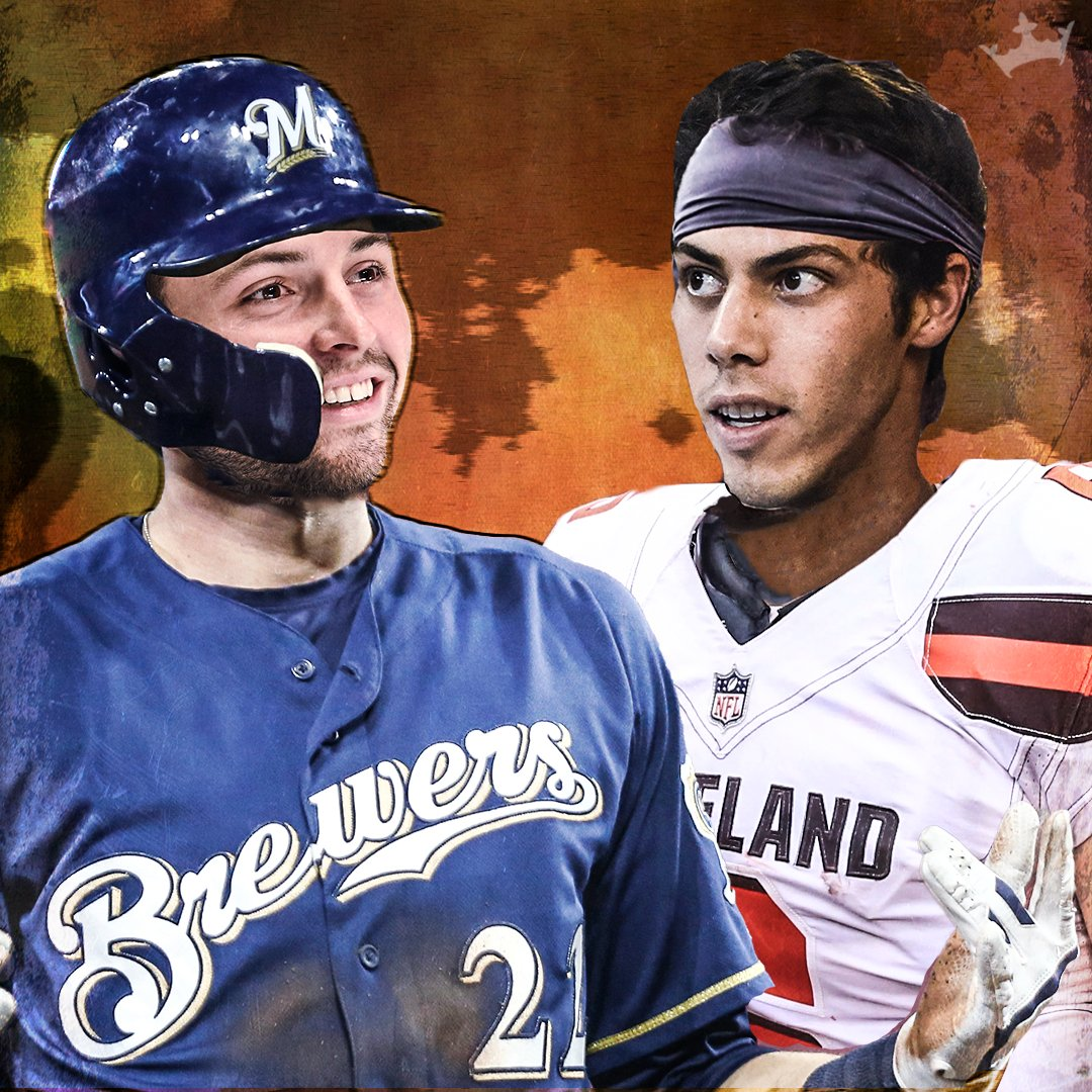 #FreakyFriday! How would pals @bakermayfield & @ChristianYelich play if they traded sports for a day?
