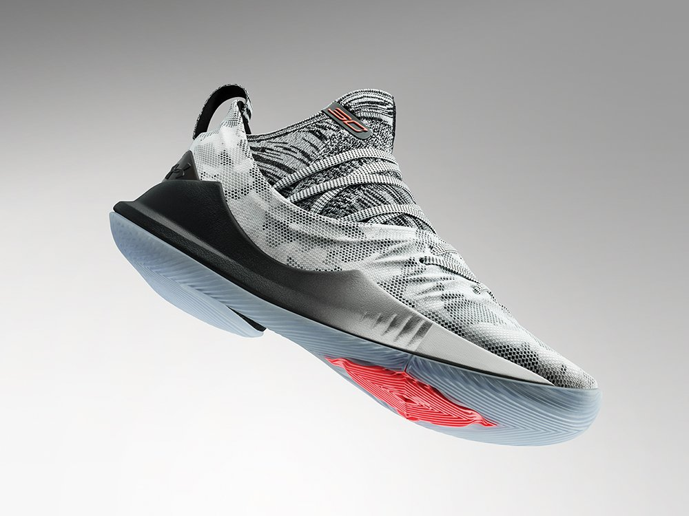 This colorway of the #Curry5 is now available on UA.com and is inspired by the passion and hard work of someone who is very special to @StephenCurry30. Hint: 👩🍳 Answer here: undrarmr.co/2PvA4Pw