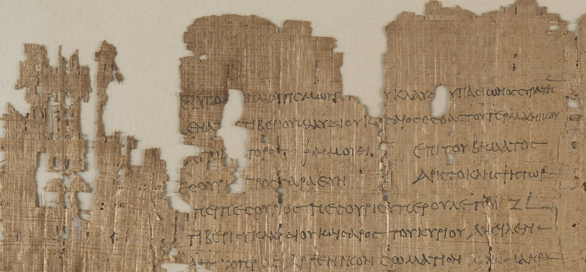 &quot;Pesouris picked up a baby boy from a rubbish heap, adopted and entrusted him to a nurse to breastfeed&quot; Rescuing a child 2000 years ago to mark #childreninneed2018  isn&#39;t new. Report to local official in @BLMedieval Papyrus 746 #ChildrensGriefAwarenessWeek #FridayMotivation <br>http://pic.twitter.com/y69TGKMJ6Z