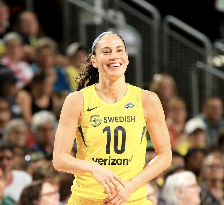 Sue Bird, 3x Olympic champion, 4x WNBA All-Star