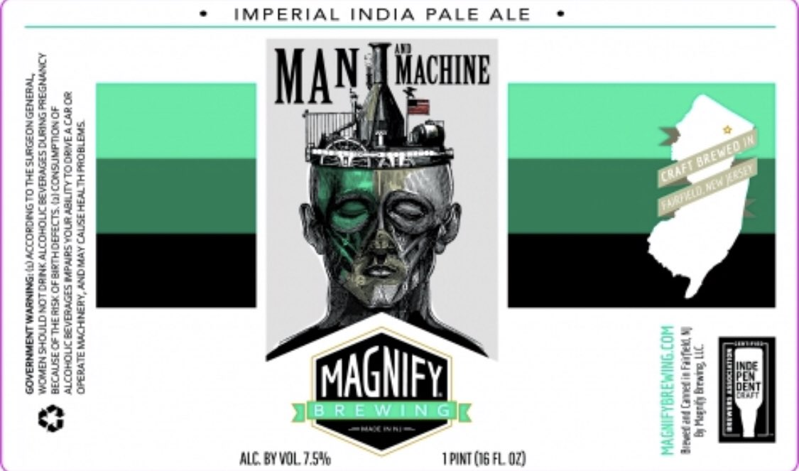 Image result for magnify man and machine india pale ale