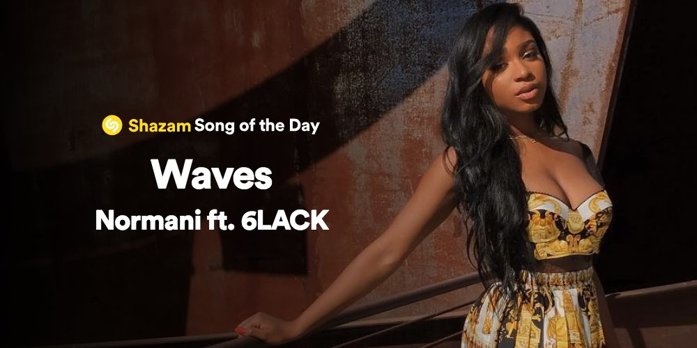 New music from @Normani & @6LACK 🙌🙌🙌  Drop a 🌊 here ---> https://t.co/wpxQANFNP9