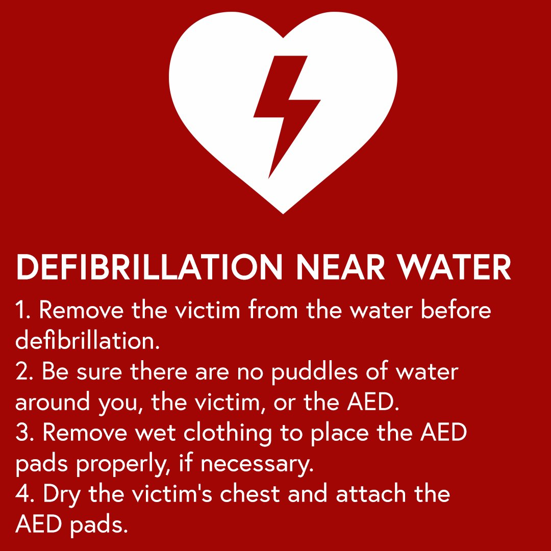 Aacprfirstaid On Twitter If You Re Administering Defibrillation