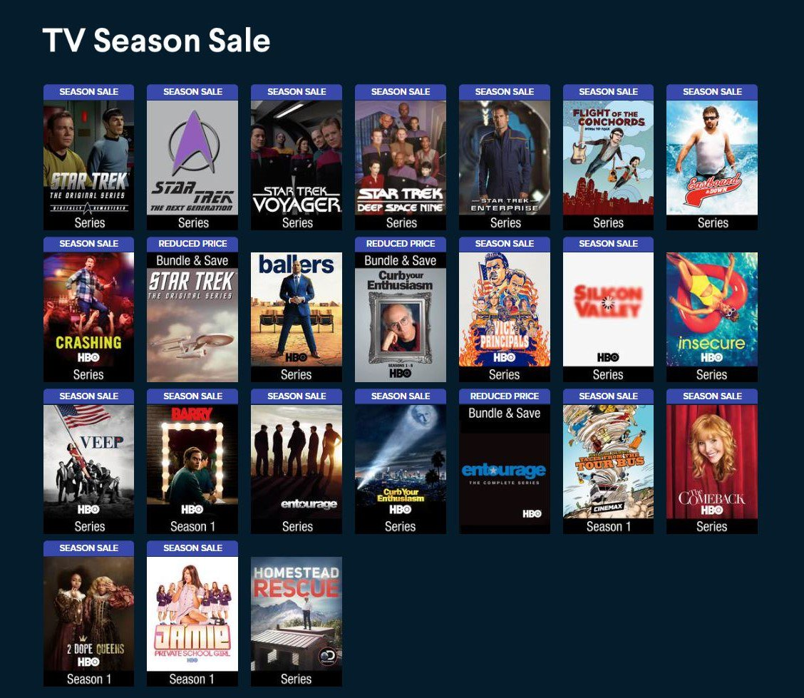 Vudu - Movies & TV's photo on ON SALE NOW