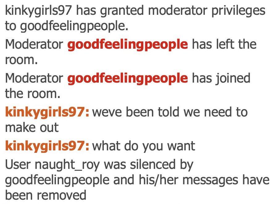 Moderator chaturbate Chaturbate Room
