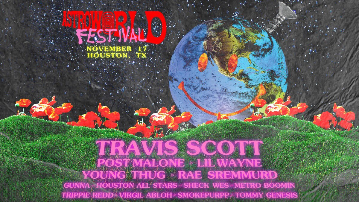 ASTROWORLD FEST TOMORROW AHHHHHH