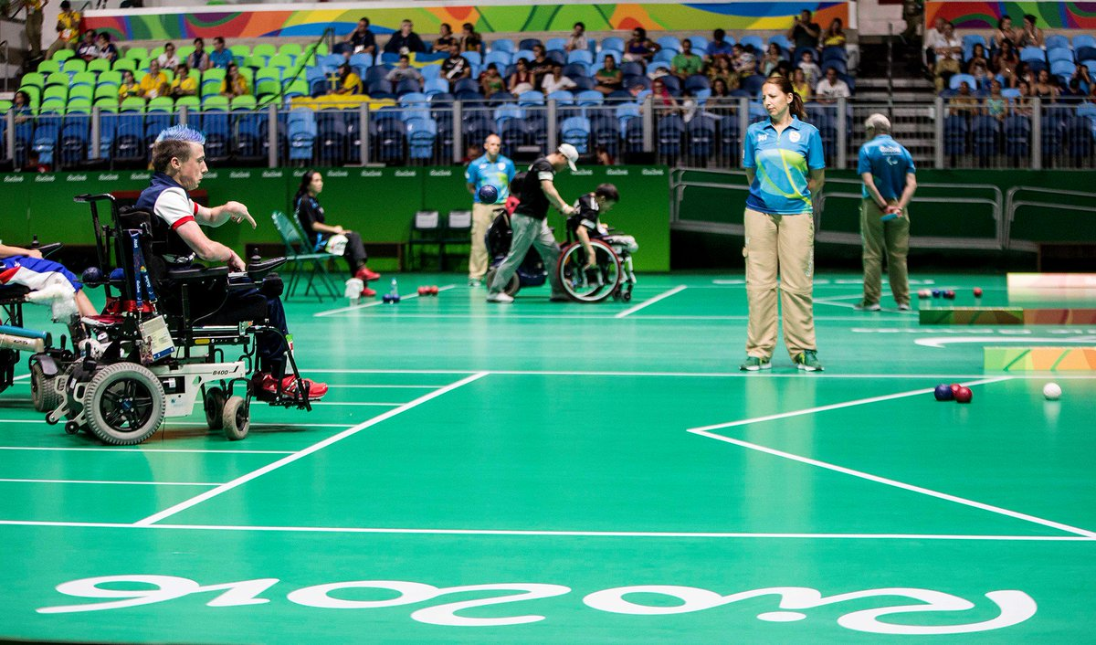 Have you ever seen boccia being played in the Paralympics? A sport specifically designed for disabled athletes, find out all about this game and what it means to compete in today&#39;s Sport of the Day:  https:// bit.ly/2DL6mzR  &nbsp;    #boccia #disabledsports #paralympic <br>http://pic.twitter.com/qzWuFbzr5P