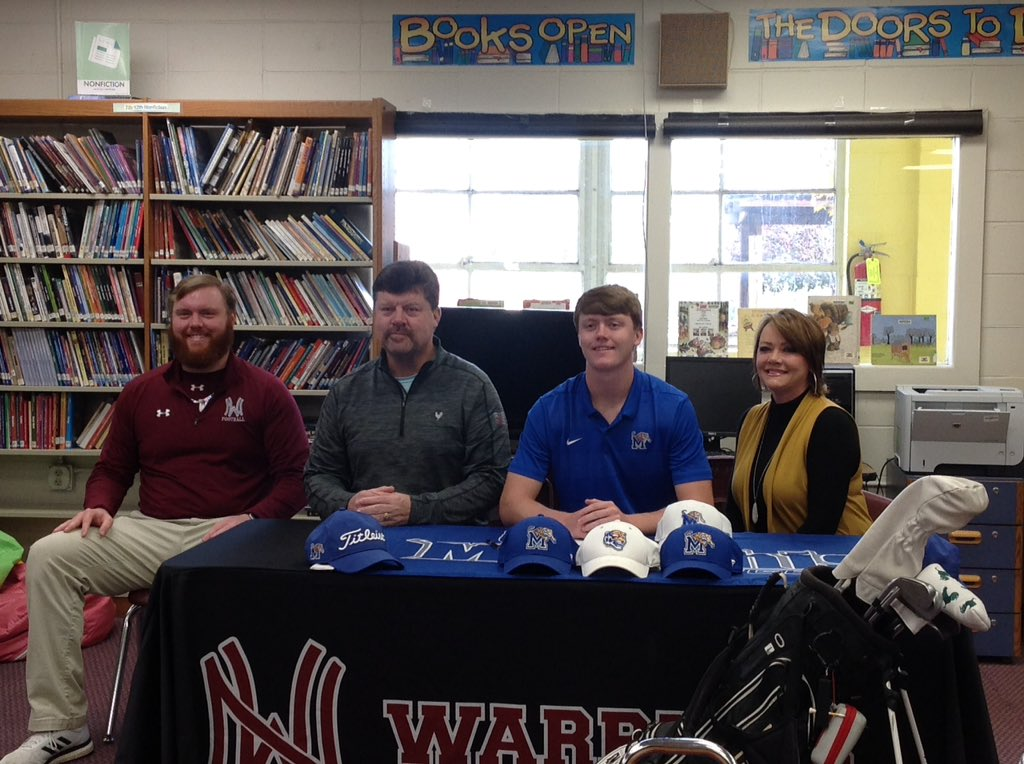 Congrats to Jake Kight for signing a golf scholarship with the University of Memphis!pic.twitter.com/OUzbUkGp7F