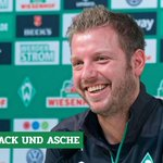 Image for the Tweet beginning: #Werder-Coach Florian #Kohfeldt will Frust