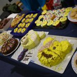 What a feast of #cake for @bbcchildreninneed2018 truly scrumptious thanks to all involved for their hard work. #bakeoff #BBCchildreninneed@SoMagazines @insideKENT @GoodSchoolsUK @7OaksChronicle @KM_newsroom
