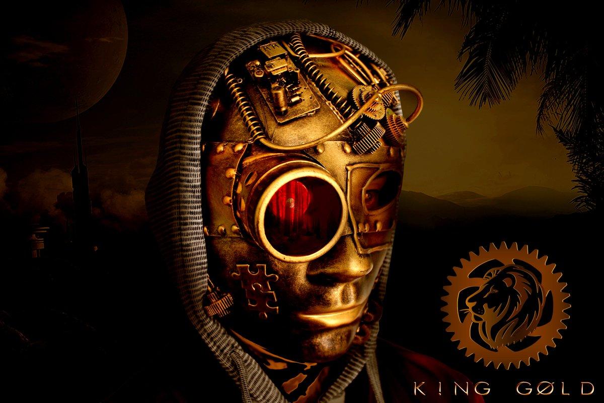 Let's Begin... #officialkinggold #artistkinggold #steampunk #Artist #Official #Hybrid #orchestra #music