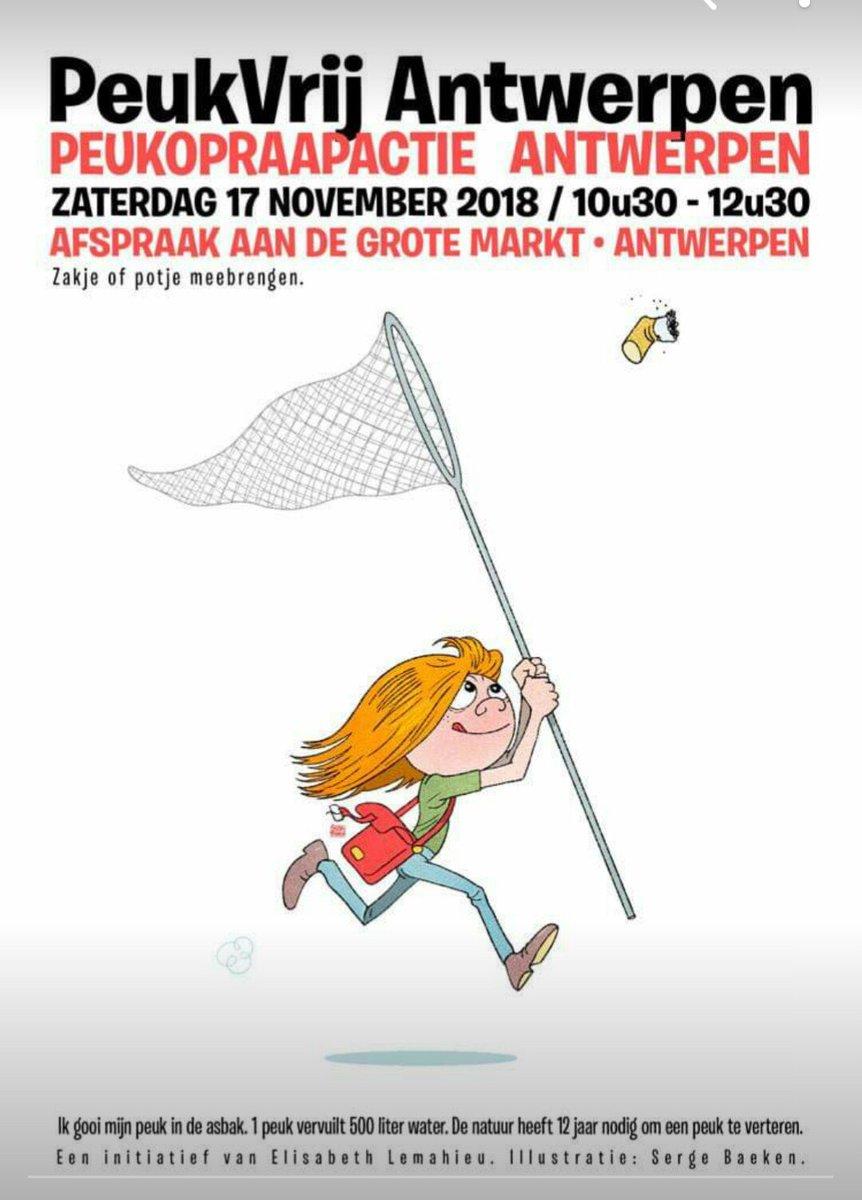Raapt u morgen mee ? #peukenvrij #antwerpen #grotemarkt 10.30u potje of zakje meebrengen https://t.co/jrlmvPweIJ