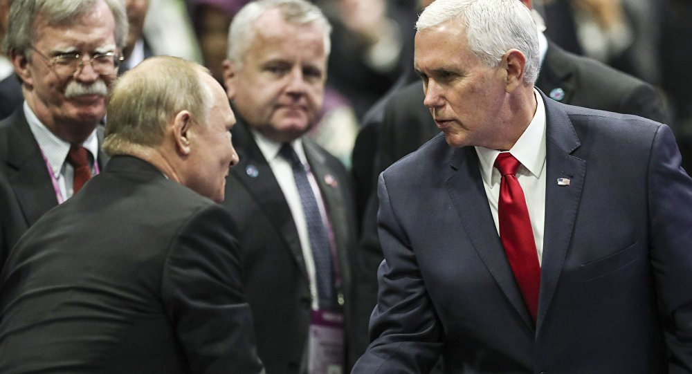 Twitter bashes #Bolton's 'giddy' glance, #Pence's 'steely glare' during talks with #Putin https://t.co/EgratoVmaG