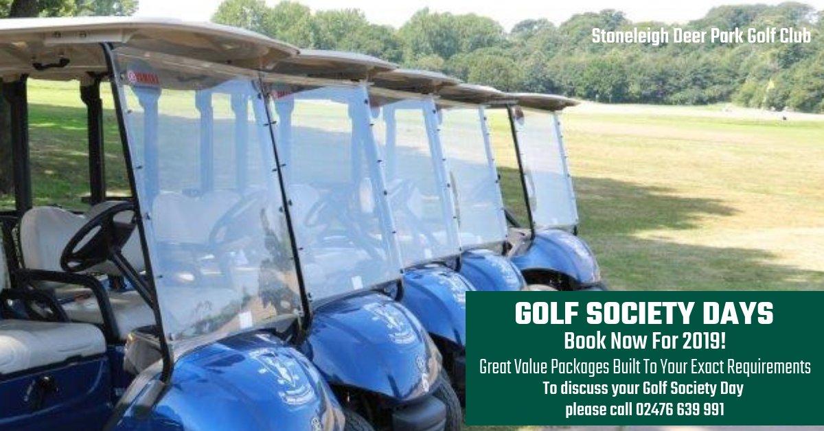 Stoneleigh Golf Club On Twitter Midlandshour Book Your 2019 Rhtwitter Cart Blue