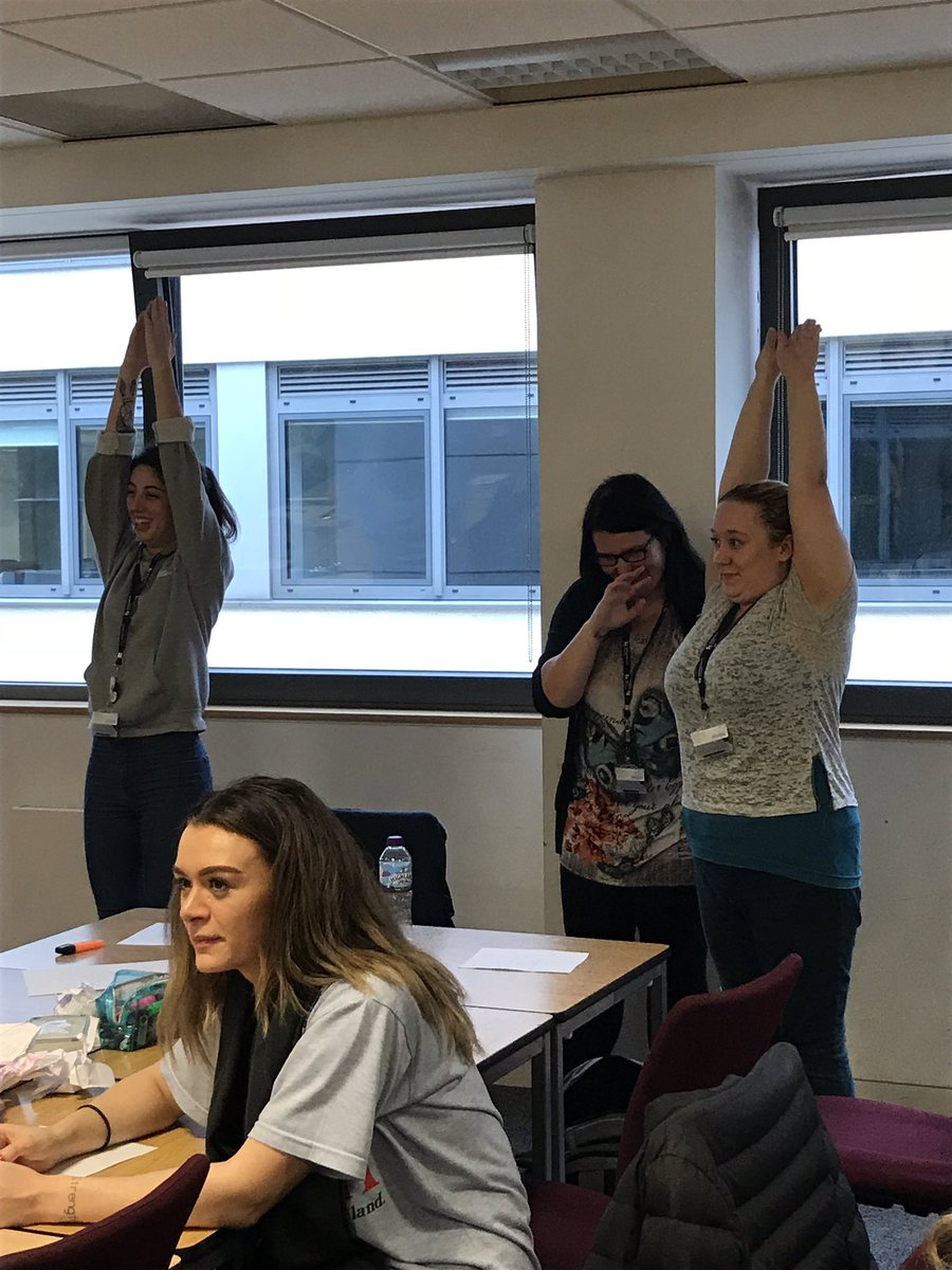 Today the 1st year BSc students have been studying communication and teamwork. A fun day where learning has taken place @BCUHELS #StudentLife #Paramedic #learningisfun<br>http://pic.twitter.com/9F5vasDZKE