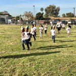 Image for the Tweet beginning: Kinder and 1st graders getting