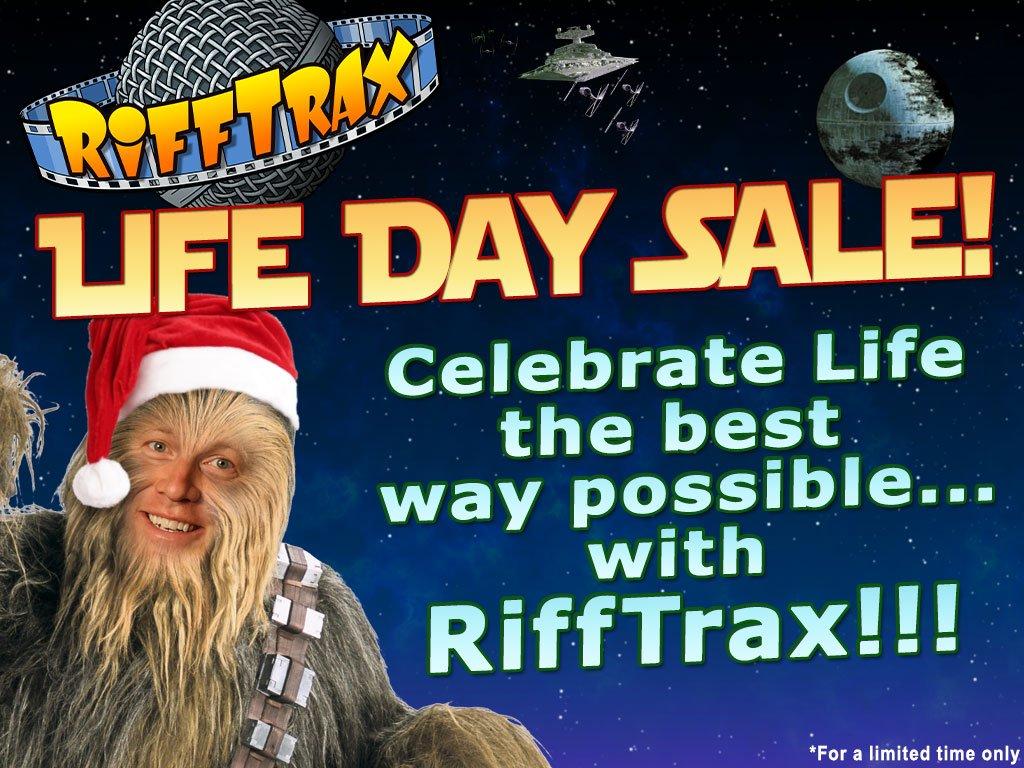 star wars christmas rifftrax