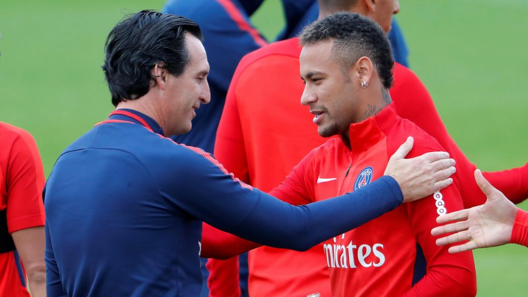 Neymar on Emery: Arsenal are playing really great football. They are coming from a great run in recent matches and everybody knows hes a really great coach.