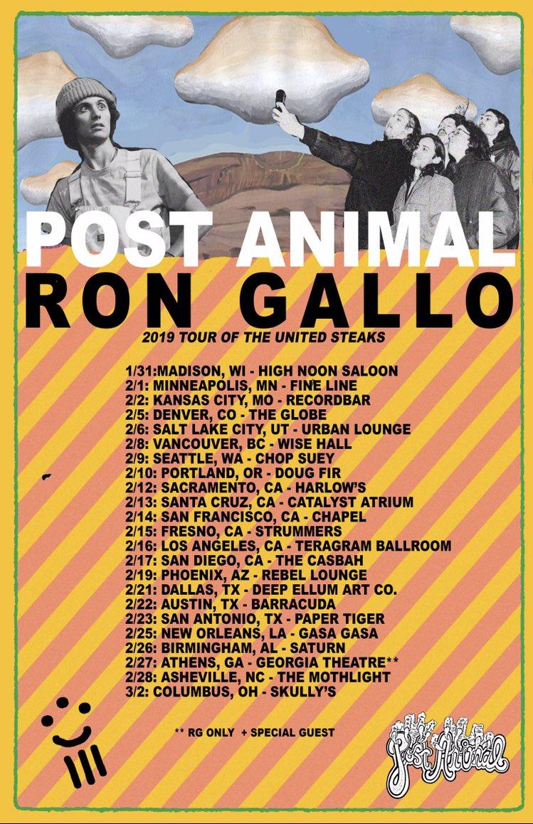 Ron Gallo's photo on ON SALE NOW