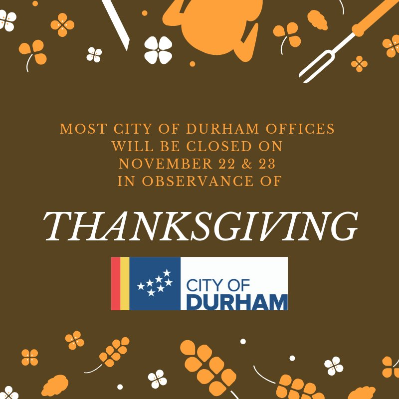 Cityofdurhamnc On Twitter Icymi Most Of Our Offices Including