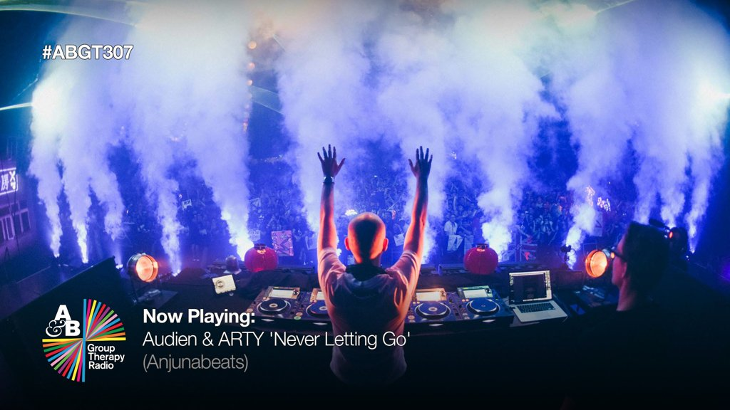 1. Nate Rathbun & Artem Stoliarov aka @Audien & @artymusic kick off another episode of ABGT with 'Never Letting Go' (@anjunabeats) twitch.tv/aboveandbeyond