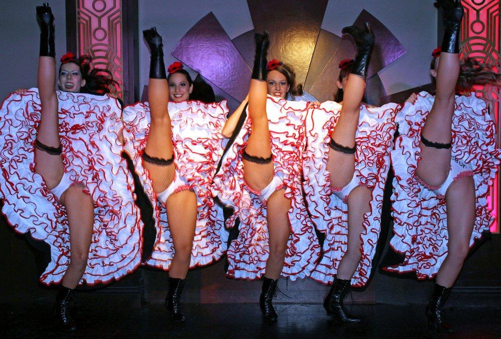 Классический танец канкан без нижнего белья видео