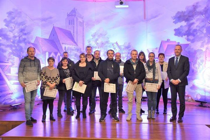 Félicitations aux nouveaux médaillés du travail et bonne continuation !