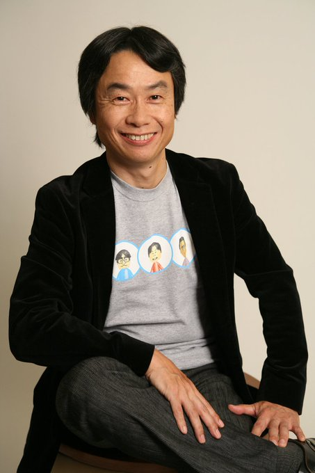 Happy birthday to Shigeru Miyamoto, one of the greatest creative minds in history!