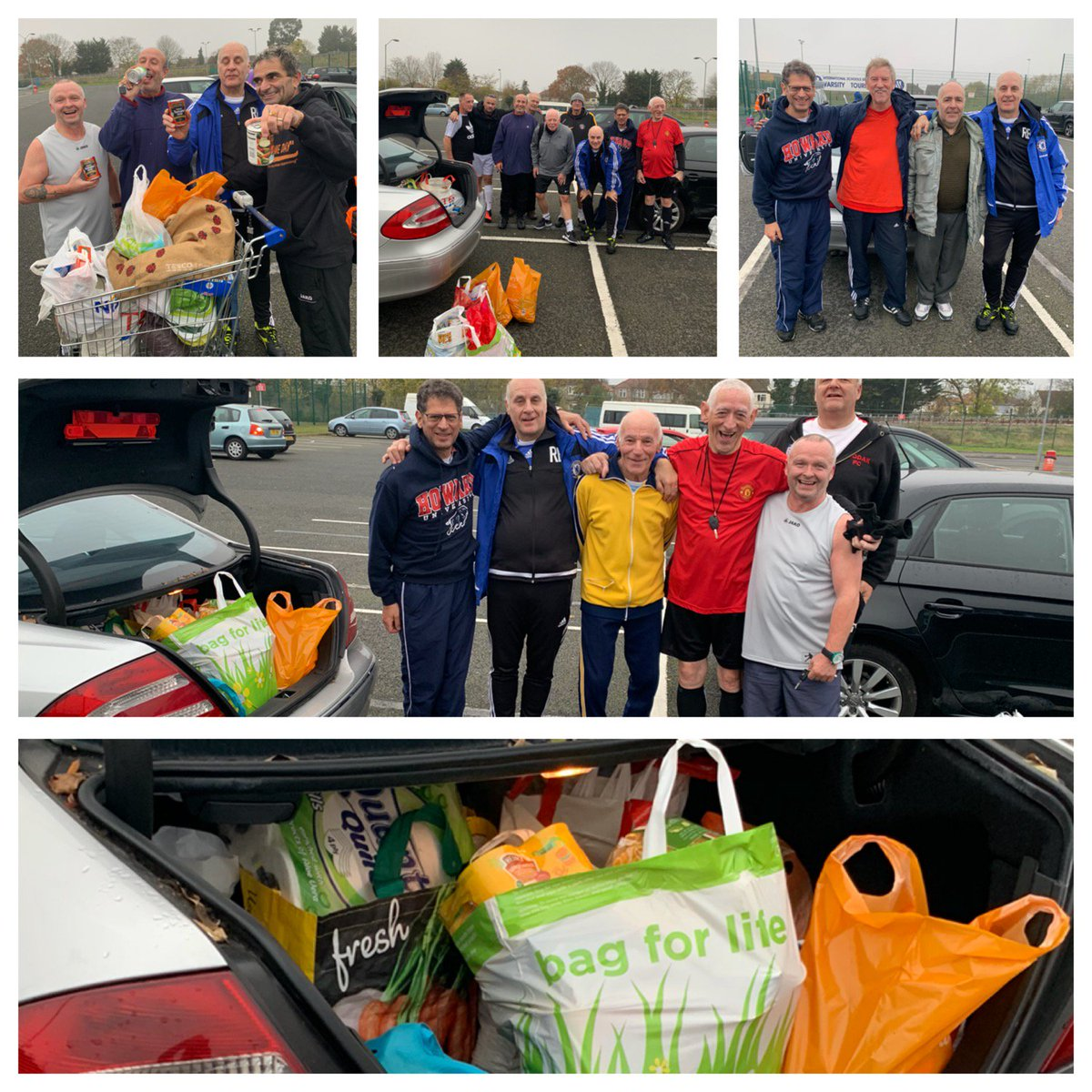 FOOD BANK COLLECTION SESSIONS by @BarnetWft at @TheHiveLondon home of @BarnetFC An amazing response by our @WalkingFootball team in aid of The @MuswellFoo muswell Hill Food Bank  @middxfa @radioharrow @Muswellife<br>http://pic.twitter.com/6Sn9NQszlq