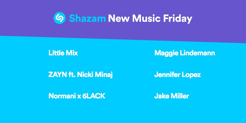 Listen to the latest hits from @LittleMix, @zaynmalik x @NICKIMINAJ, @NormaniKor@6LACKde@MaggieLindemanni @JLox @jakemiller, , ,  & more!! 🔥🔥🔥  https://t.co/dAGbd8buQ3🔗
