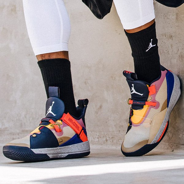 07370e000238 Ad  Air Jordan 33  Visible Utility  dropped today and selling via Nike US     http   bit.ly 2DFdI7X More sizes via Eastbay    http   bit.ly 2QJb9V1 ...