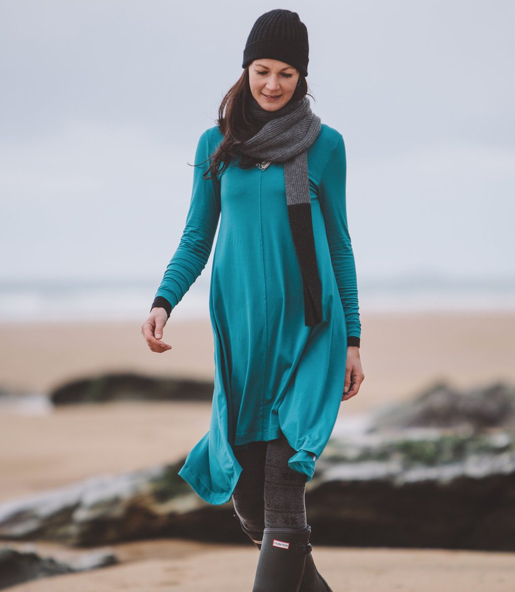 bc2d67b9c5f15 ... hem add a feminine touch to a classic style. 95% Tencel (Eucalyptus) 5%  Elastane http   ow.ly qrxu30mCUAW  fashion   organicpic.twitter.com j1Av7FlowW