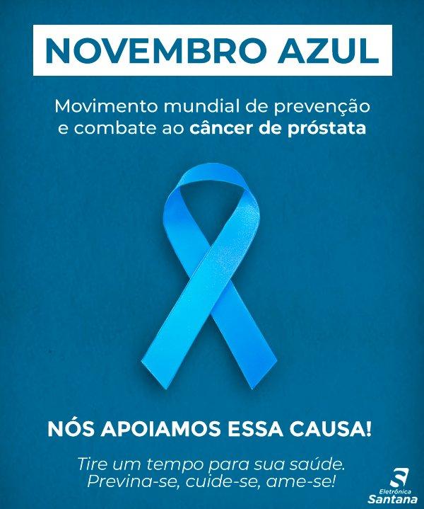 Novembro é o mês mundial de conscientização a respeito de doenças masculinas, com ênfase na prevenção e no diagnóstico precoce do câncer de próstata.   Procure o seu médico! Cuide-se. https://t.co/nliUkq8WJH