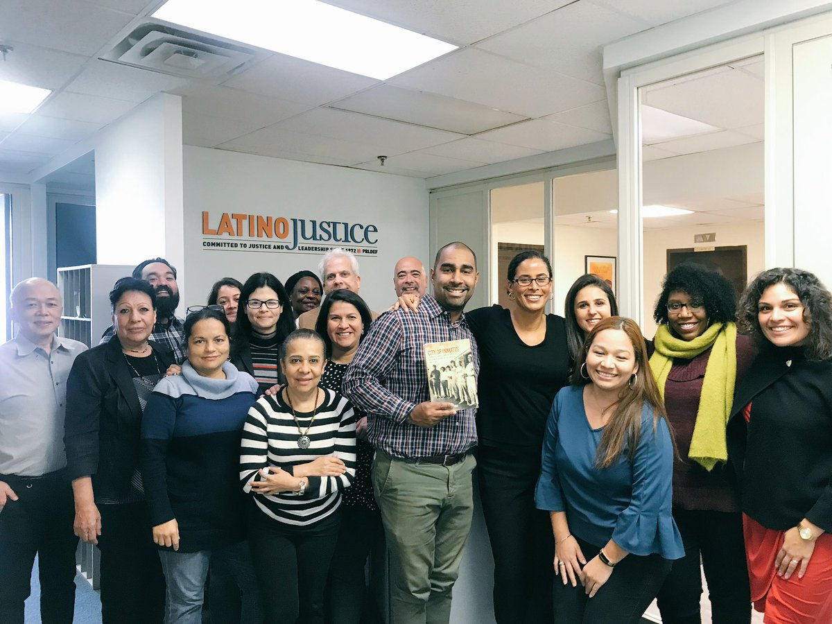 """Our Interim Director @klytlehernandez was in NY this week building and sharing knowledge with @latinojustice.   """"Without Community, there is no liberation"""" - Audre Lorde"""