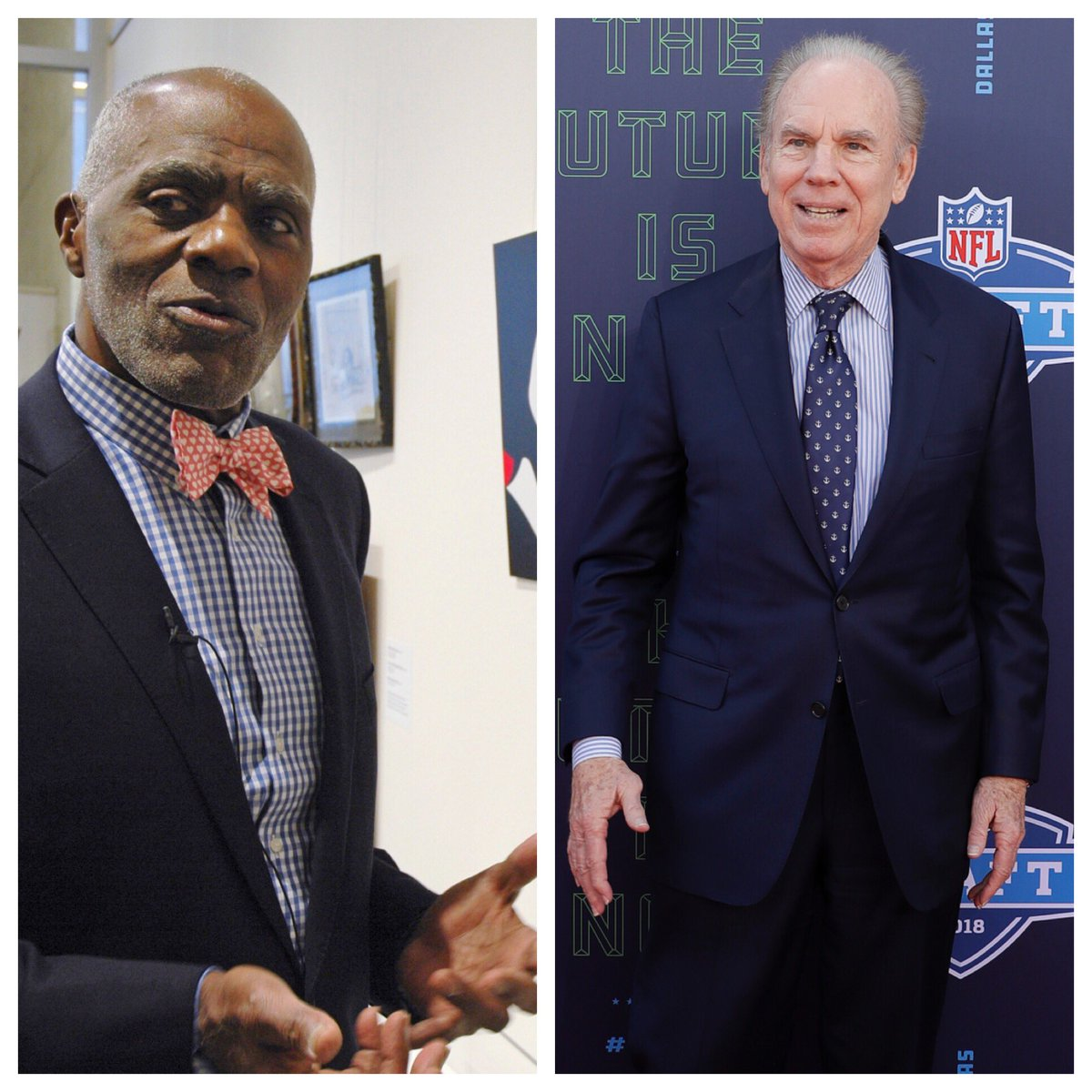 Congrats to Alan Page, Roger Staubach, and all recipients of the Presidential Medal of Freedom, the nation's highest civilian honor. Alan and Roger represent the best of the NFL, on and off the field.