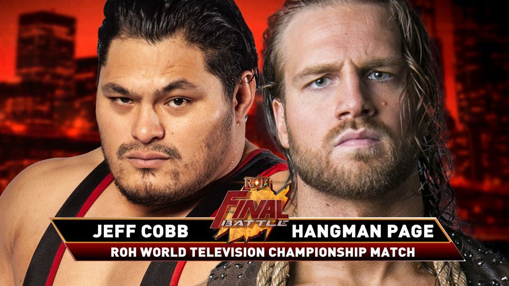 Title Match Added To ROH Final Battle, Updated Card