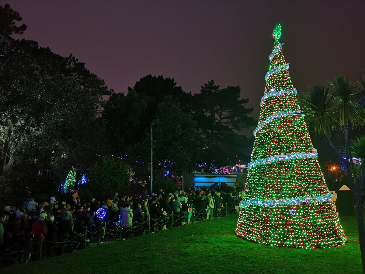 Christmas Tree Wonderland.Visit Bournemouth On Twitter Let There Be Light