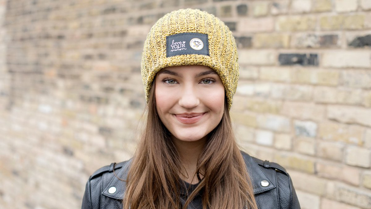 cc38035f9c3e5 The  pensfoundation will be selling co-branded Love Your Melon beanies to benefit  Ronald McDonald House Charities of Pittsburgh and Morgantown.