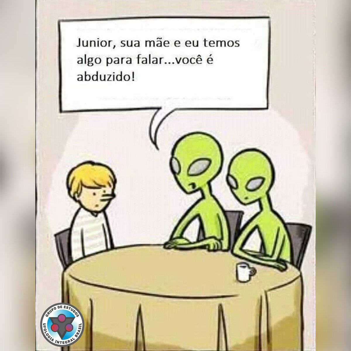 E você, sente que já foi abduzido? #ufobrasil #ufologiabrasileira #ufology #ufointegral #ufoarqueologia #ufologia #ufologiaintegral #ufoart #ufologiaintegralbrasil #ufointegrada #ufosighting #ufologo #ufo #ovni #et #extraterrestre #abducao #abduzido #humorufologico pic.twitter.com/SXuYKwMd2a