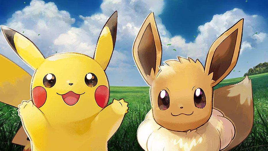 Pokémon Let's Go Pikachu et Lets Go Evoli : notre avis sur deux jeux à la croisée des générations bit.ly/2Q0rnvW