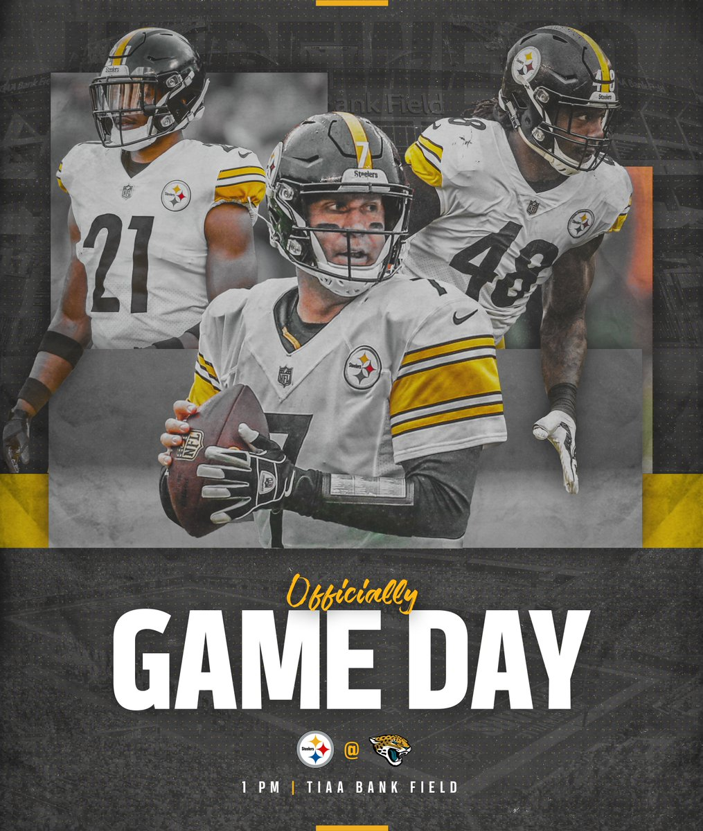 RT @steelers: It's time. #HereWeGo https://t.co/d8IoXDWH0y