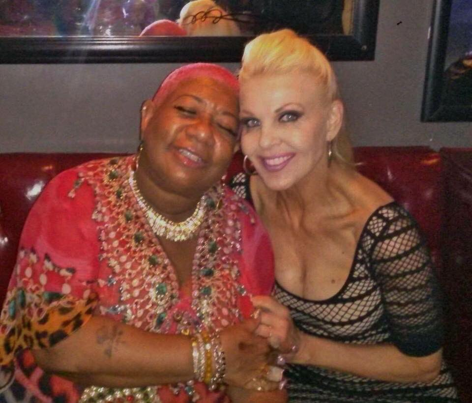 My girl! Supportive, genuine with a heart of gold @HeyLuenell  Love you 💕 xoxo  I had the most amazing phone call from my girl.  #MJG #LuenellCampbell #Stage #audience #live #love #laugh #HeyLuenell #friends
