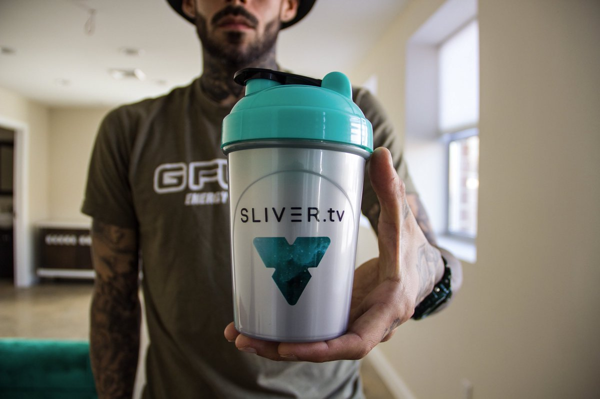 REMINDER!!! In approximately 2 hours, well be kicking off the #GFUEL x @SLIVERtv360 Stream - Where well be GIVING AWAY 100 of these SUPER CLEAN SLIVER Shakers (as Starter Kits)! Be there or be square! Tune In Here: AIRDROP.SLIVER.TV 💎💎💎