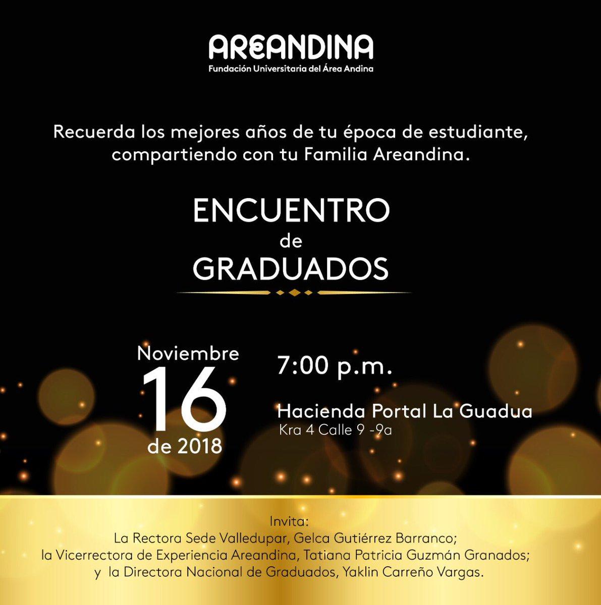 Esta es la noche de nuestros graduados @Areandina Ya casi nos vemos!!! @Vargasyaklin @RiYanelis @MelbaMieles @CarmenM16 @jvalenciamolano @JoseQuinteroV @GustavoBanderaG