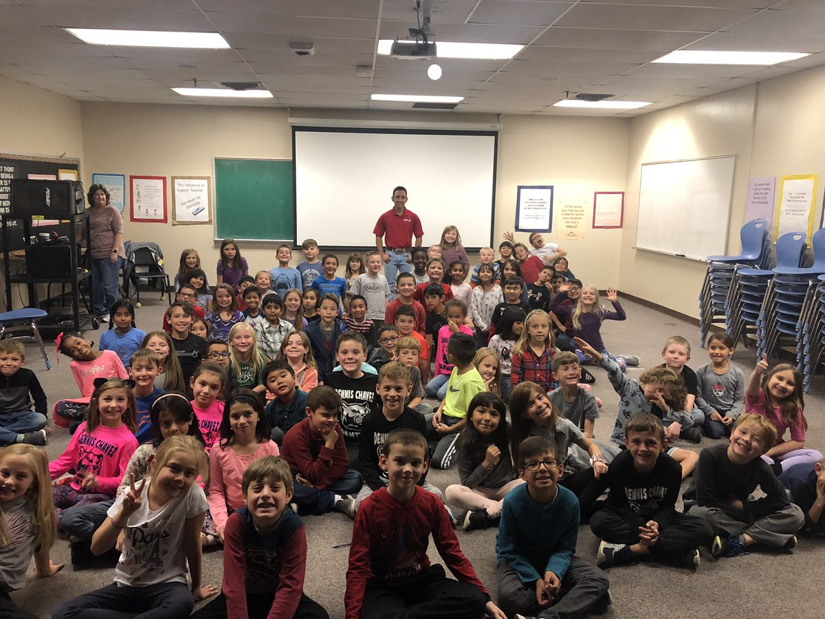 Thanks to the 2nd Graders at Dennis Chavez ES for inviting me to talk weather. #STEM #nmwx @ABQschools