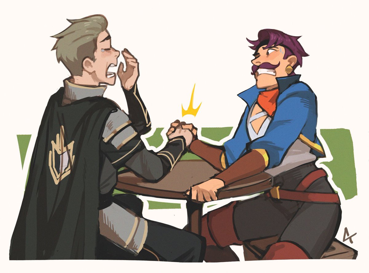 Soren and Sea Hawk would totally be friends, right? More crossover art by @ctchrysler_! #TheDragonPrince #SheRa<br>http://pic.twitter.com/rnmQcJrtKv