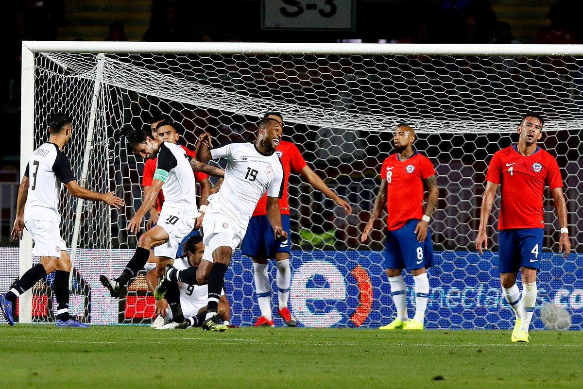 Resultado de imagen para Kendall Waston Costa Rica everardoherrera gol chile